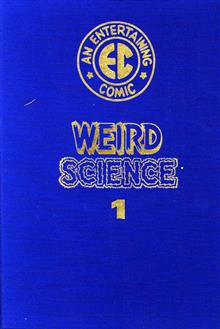 EC ARCHIVES WEIRD SCIENCE VOL 1 LTD LEATHER BOUND