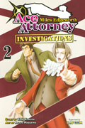 MILES EDGEWORTH ACE ATTORNEY GN VOL 02 (MR)