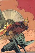 ROCKETEER HOLLYWOOD HORROR HC DM ED