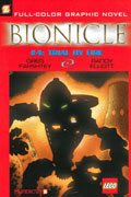 BIONICLE VOL 4 TRIAL BY FIRE GN