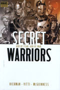 SECRET WARRIORS VOL 2 GOD OF FEAR GOD OF WAR PREM HC