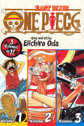 ONE PIECE SET VOL 1, 2, & 3 EAST BLUE GN