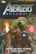 AVENGERS ASSEMBLE BY BENDIS HC MOVIE DM VAR ED