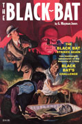 BLACK BAT DOUBLE NOVEL #2 BLACK BAT STRIKES AGAIN