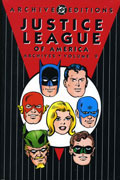 JUSTICE LEAGUE OF AMERICA ARCHIVES VOL 9 HC