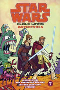 STAR WARS CLONE WARS ADVENTURES VOL 7 TP