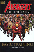 AVENGERS THE INITIATIVE VOL 1 BASIC TRAINING PREM HC