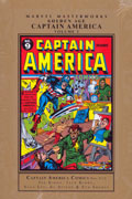 MMW GOLDEN AGE CAPTAIN AMERICA HC VOL 03