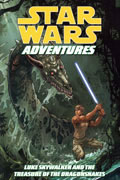 STAR WARS ADV VOL 3 LUKE SKYWALKER TREASURE OF THE DRAGONSNAKESTP