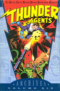 THUNDER AGENTS ARCHIVES HC VOL 06