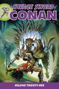 SAVAGE SWORD OF CONAN TP VOL 21