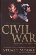 CIVIL WAR ILLUSTRATED PROSE NOVEL HC