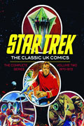 STAR TREK CLASSIC UK COMICS HC VOL 02