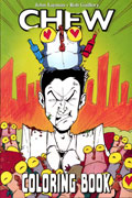 CHEW ADULT COLORING BOOK TP (MR)