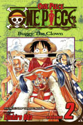 ONE PIECE VOL 2 BUGGY THE CLOWN TP