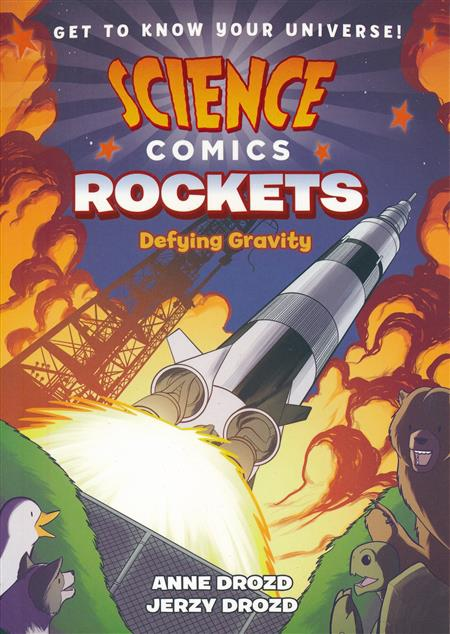SCIENCE COMICS ROCKETS GN (C: 1-1-0)
