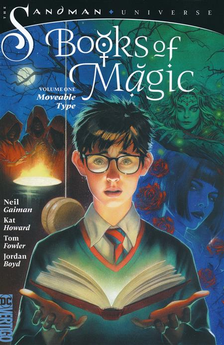 BOOKS OF MAGIC TP VOL 01 MOVEABLE TYPE (MR)