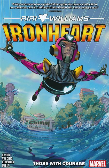 IRONHEART TP VOL 01 THOSE WITH COURAGE