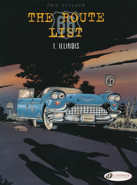 ROUTE 66 LIST GN VOL 01 (C: 0-1-1)