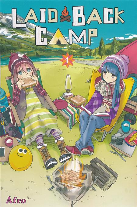 LAID BACK CAMP GN VOL 01 (C: 0-1-0)