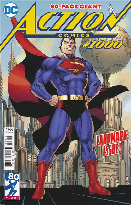 ACTION COMICS #1000 (NOTE PRICE)