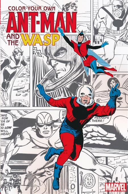 Color Your Own Ant-Man And Wasp TP - Discount Comic Book Service