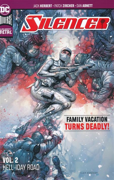 SILENCER TP VOL 02 HELLIDAY ROAD