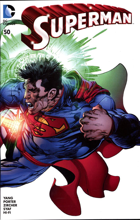 SUPERMAN #50 (NOTE PRICE) Neal Adams DCBS Variant (Connects to Batman #50 Neal Adams DCBS Variant)