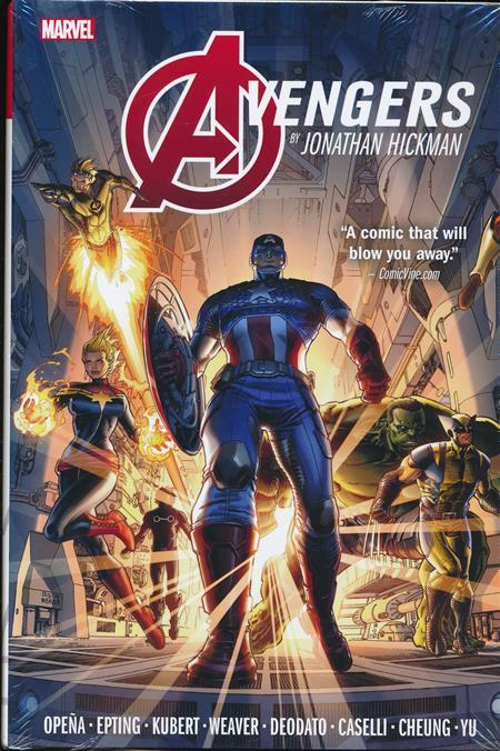Avengers By Jonathan Hickman Omnibus Hc Vol 01
