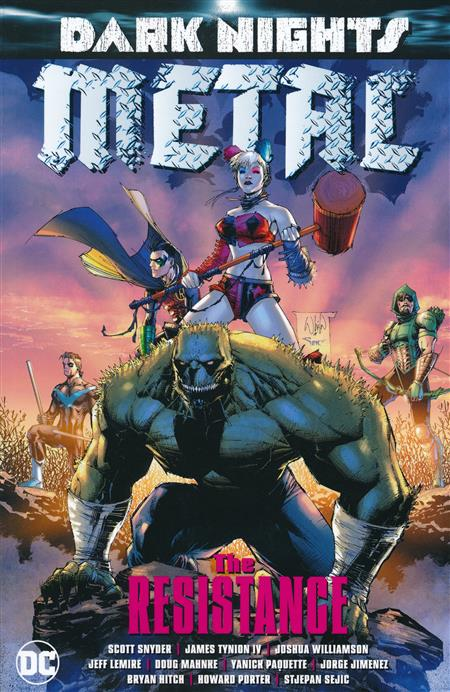DARK NIGHTS METAL THE RESISTANCE TP
