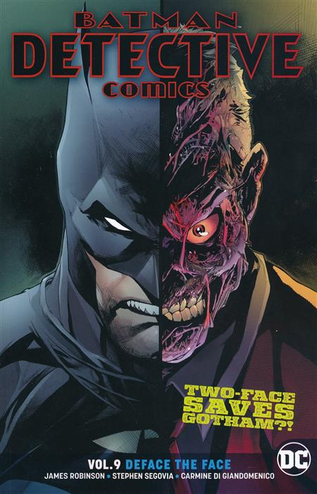BATMAN DETECTIVE COMICS TP VOL 09 DEFACE THE FACE