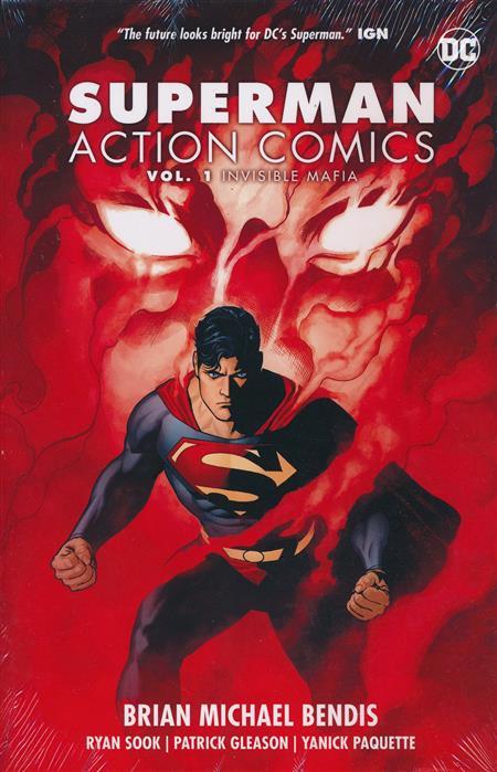 SUPERMAN ACTION COMICS HC VOL 01 INVISIBLE MAFIA