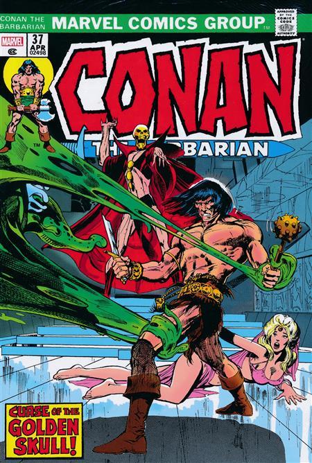 CONAN THE BARBARIAN ORIGINAL MARVEL YEARS OMNIBUS HC VOL 02 ADAMS DM VAR