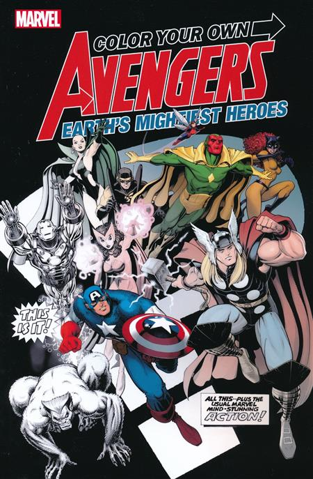 COLOR YOUR OWN AVENGERS 2 TP