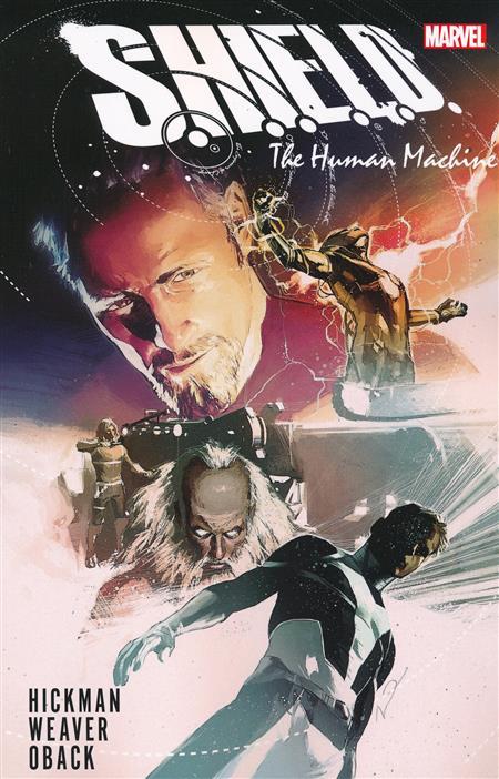 SHIELD BY HICKMAN & WEAVER TP HUMAN MACHINE