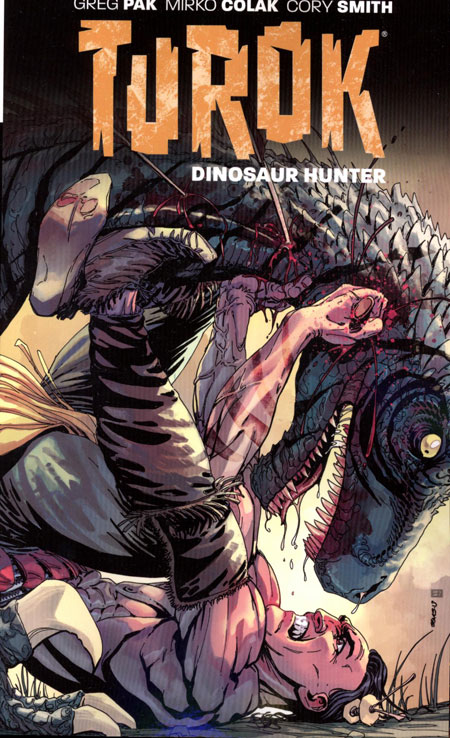 TUROK DINOSAUR HUNTER TP VOL 01 CONQUEST