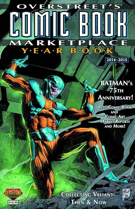 Overstreet Comic Bk Marketplace Yearbook 2014 X O Manowar Cv