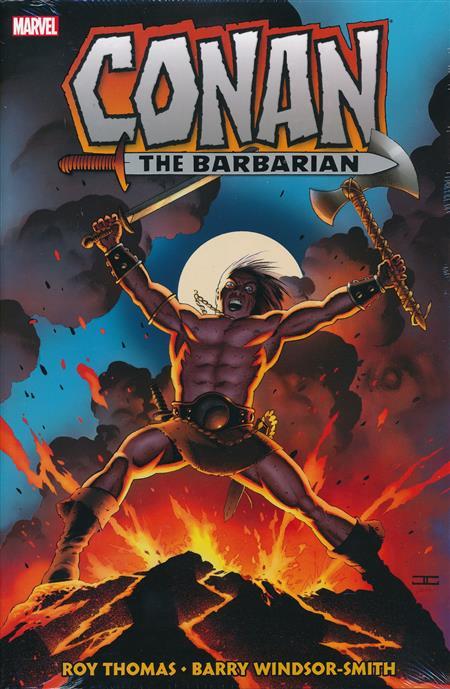 CONAN THE BARBARIAN OMNIBUS HC VOL 01