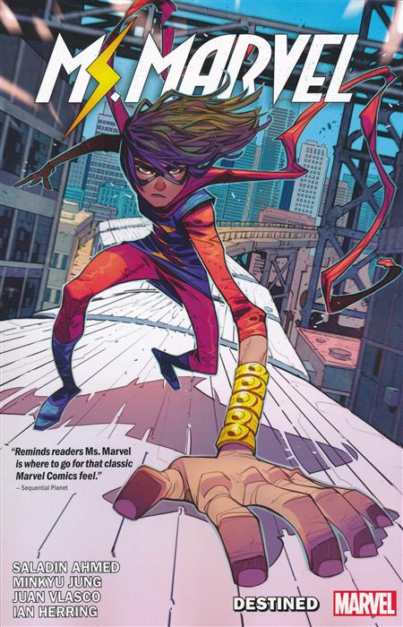 MS MARVEL BY SALADIN AHMED TP VOL 01