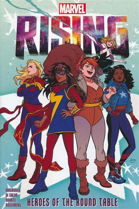 MARVEL RISING GN TP HEROES OF ROUND TABLE