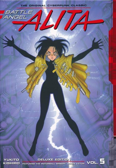 BATTLE ANGEL ALITA DELUXE ED HC VOL 05 (C: 1-1-0)