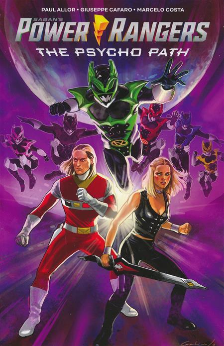 Power Rangers Psycho Path Original GN - InStockTrades
