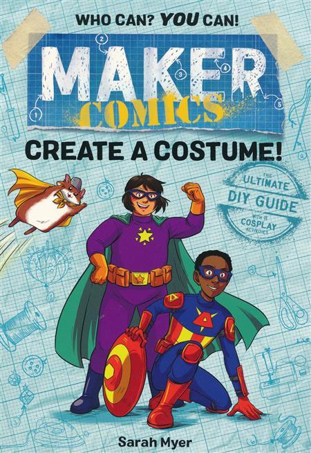MAKER COMICS GN CRE4TE A COSTUME (C: 0-1-0)