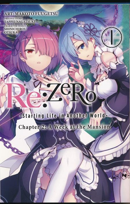 RE ZERO STARTING LIFE ANOTHER WORLD GN VOL 01 CHAPTER 2 (C: