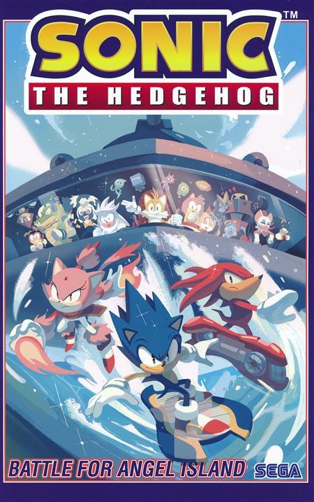 Sonic The Hedgehog Tp Vol 03 Battle For Angel Island