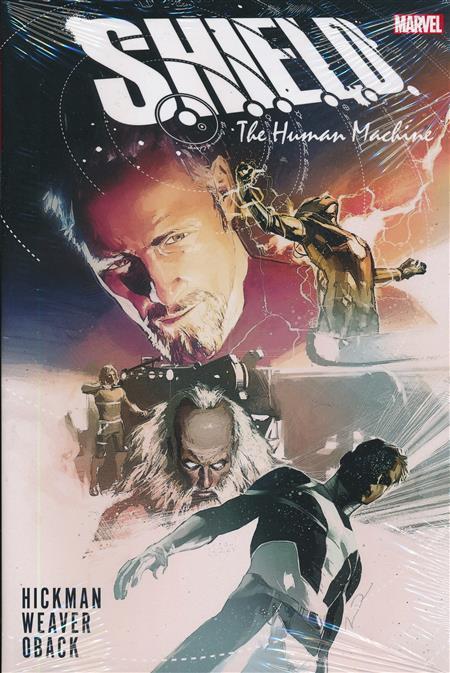 SHIELD BY HICKMAN AND WEAVER HC HUMAN MACHINE