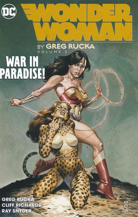 WONDER WOMAN BY GREG RUCKA TP VOL 03