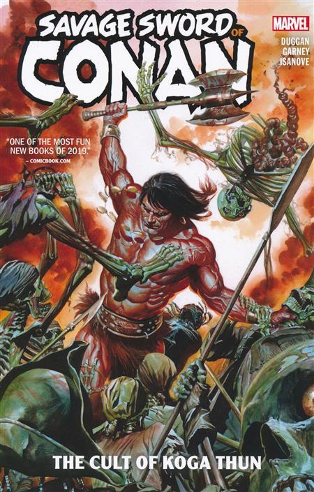 SAVAGE SWORD OF CONAN TP VOL 01 CULT OF KOGA THUN