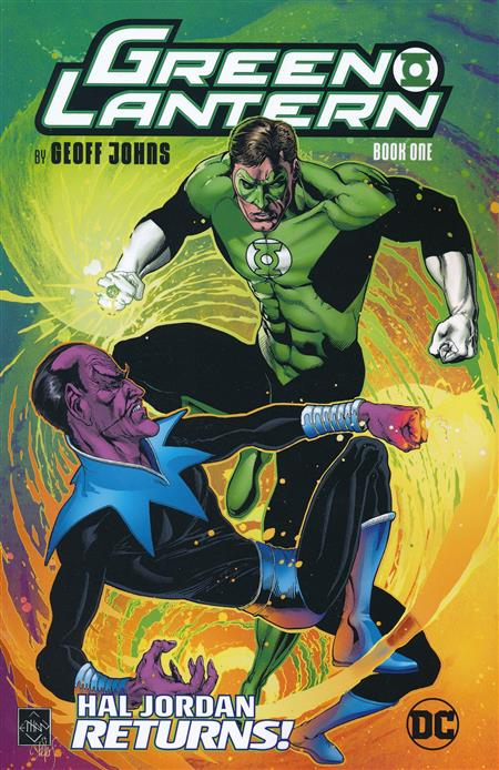 GREEN LANTERN BY GEOFF JOHNS TP BOOK 01