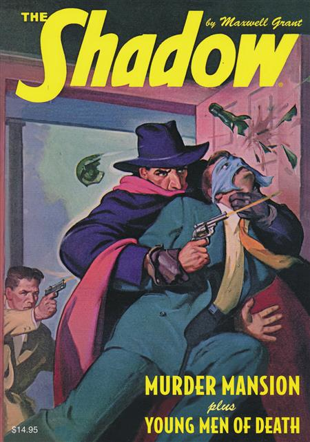 SHADOW DOUBLE NOVEL VOL 138 MURDER MANSION YOUNG MEN DEATH (